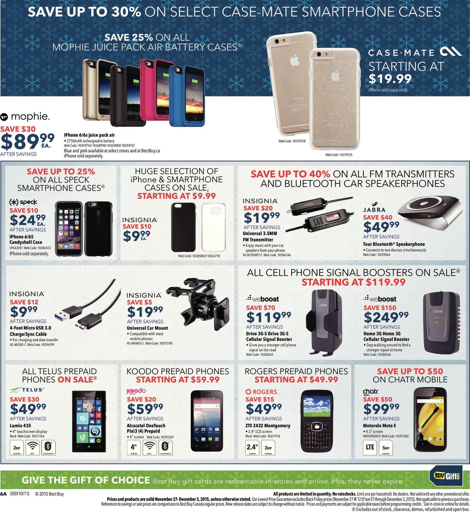 best buy weekly flyer weekly black friday sale nov 27 dec 3 rh redflagdeals com