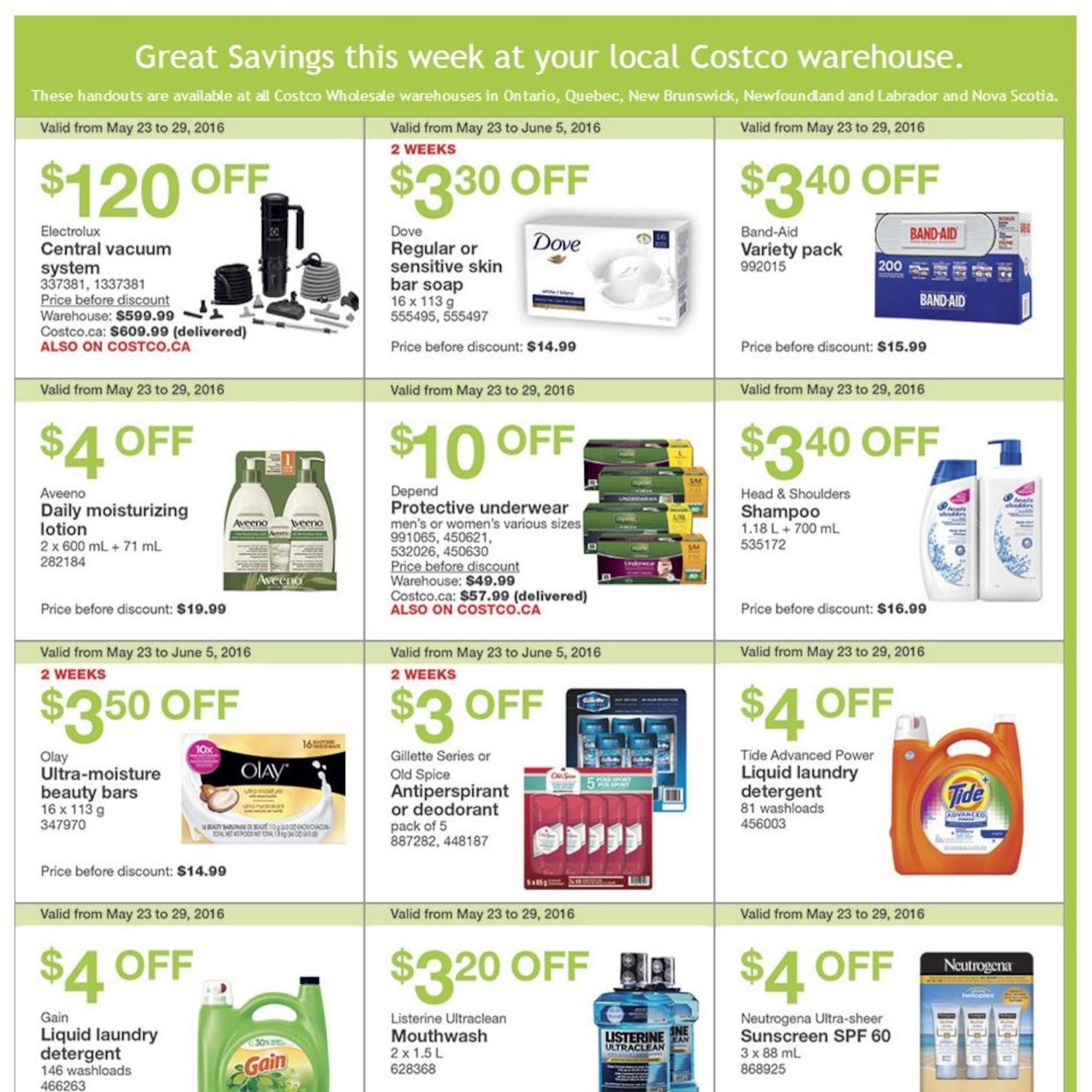Costco Weekly Flyer - Great Savings - May 23 – 29 - RedFlagDeals.com