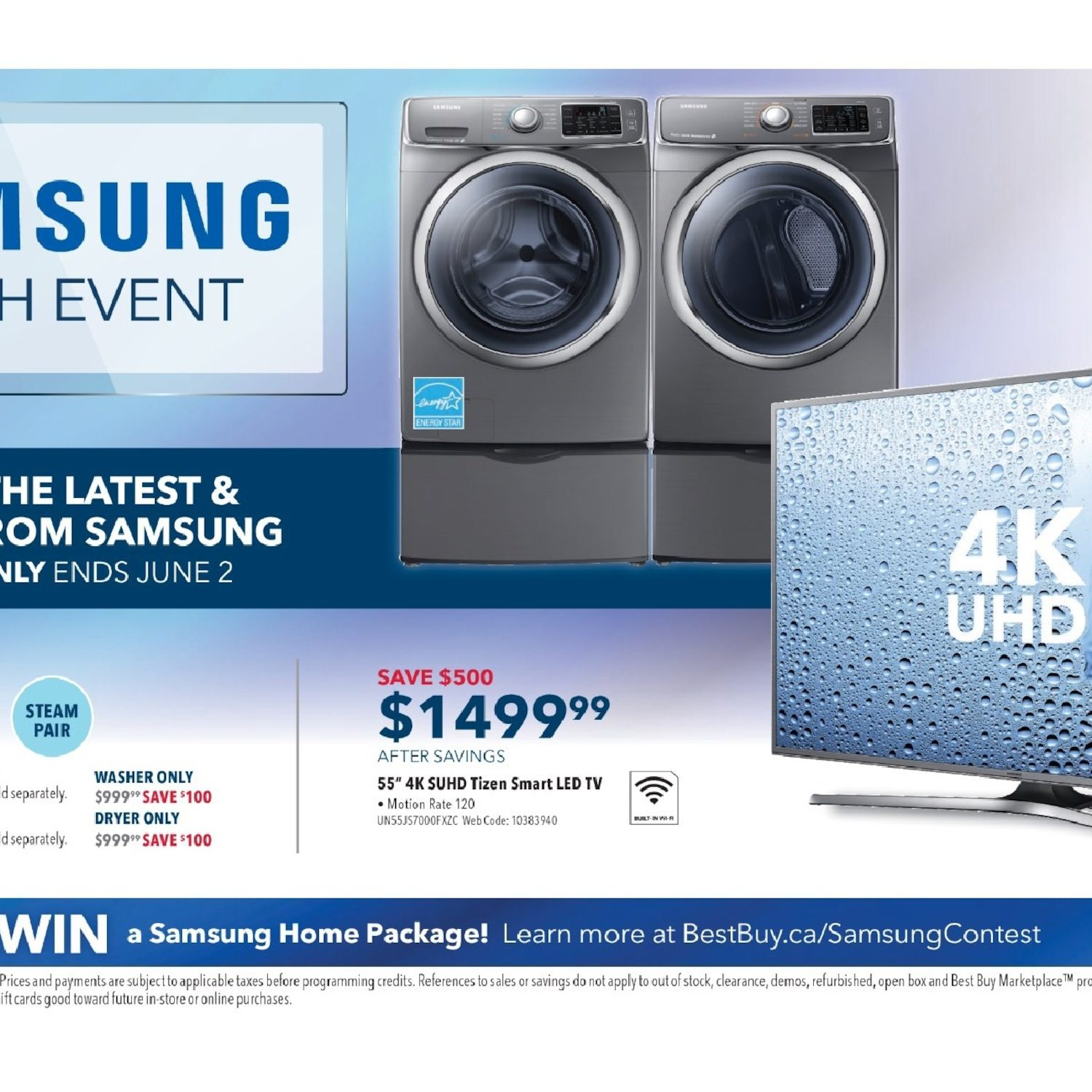 Best Buy Weekly Flyer Samsung Tech Event May 27 Jun 2 Me18h704sfs Wiring Diagram