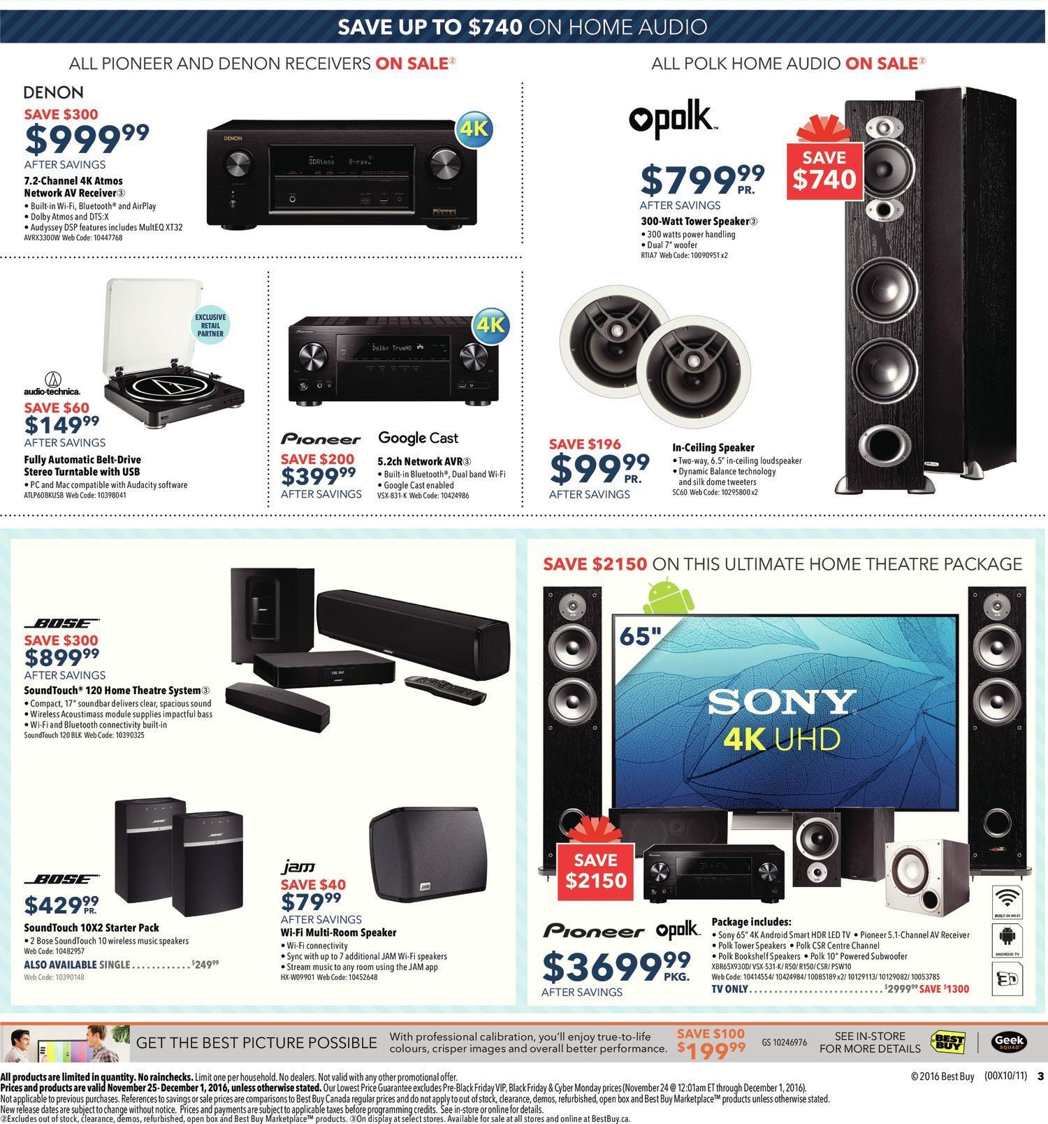 Best Buy Weekly Flyer Black Friday Sale Nov 25 Dec 1 Beranda Yuneec Gps Modul Circuit Board Typhoon H