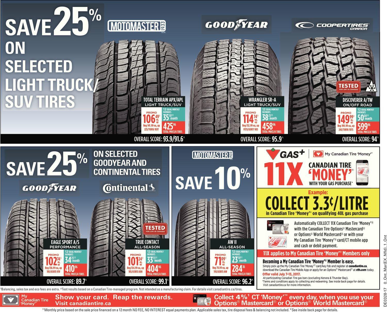 Canadian Tire Weekly Flyer Bring On Summer Jul 7 13 Redflagdeals Com