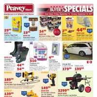 PeaveyMart - Buyer's Specials Flyer