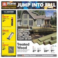 Home Hardware - Building Centre - Jump Into Fall Flyer
