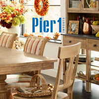 Pier1 Import - Monthly Book - Holiday Happenings In-Store Event Flyer