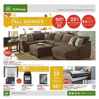 Dufresne - Annual Fall Savings Event Flyer