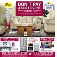 Leon's - Part of the Family - Don't Pay A Cent Event Flyer