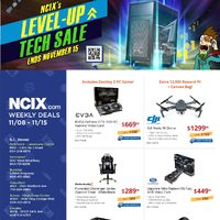 - Weekly Deals - Level-Up Tech Sale Flyer
