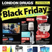 London Drugs - Black Friday 6-Day Event! Flyer