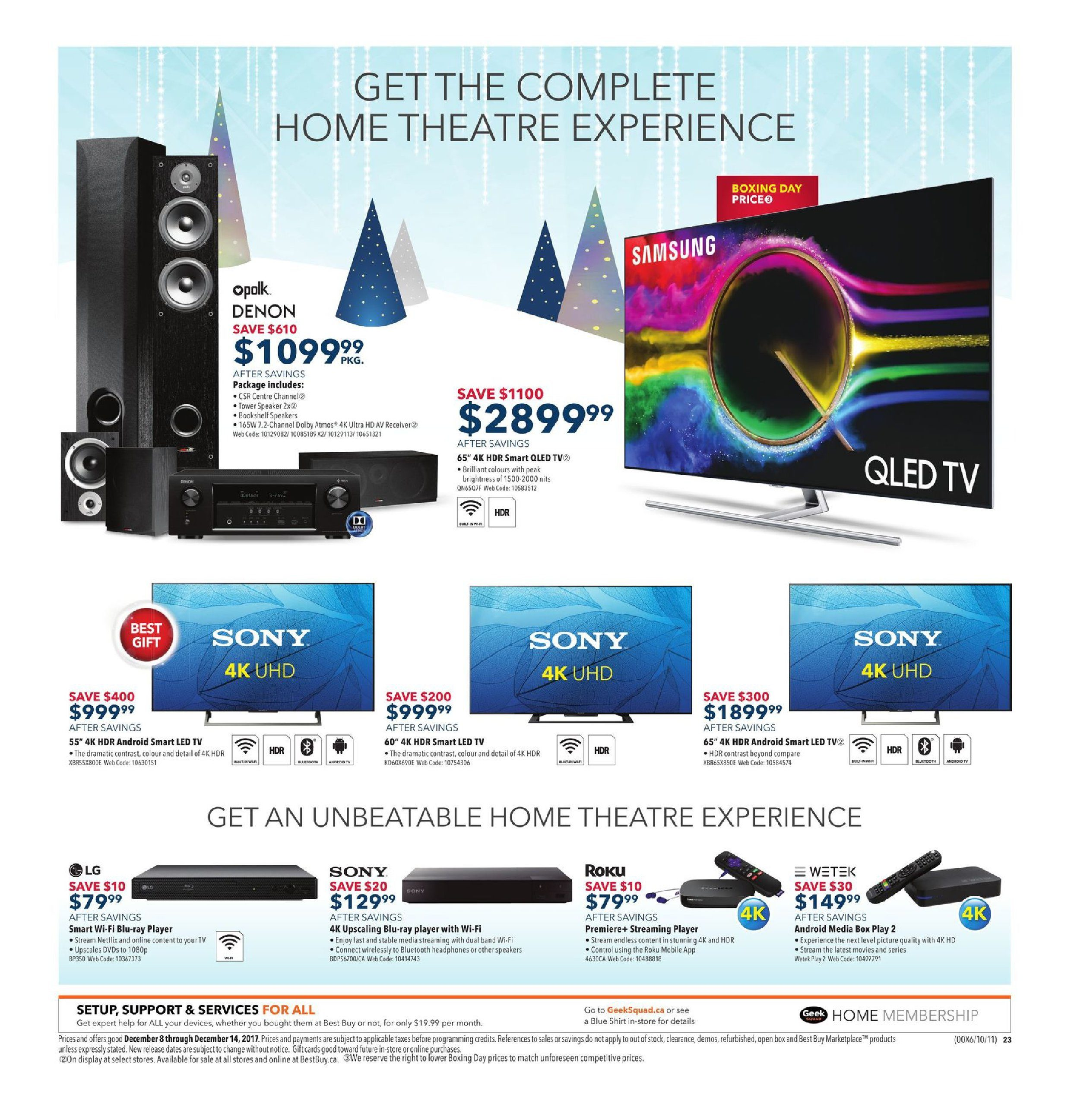 Best Buy Weekly Flyer Holiday Gift Sale Dec 8 14 Picture Of Quiz Show Buzzer System Using Staples Easy Button