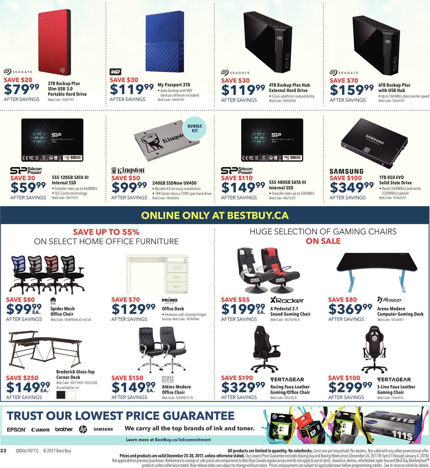 Best Buy Weekly Flyer - Boxing Day Sale - Dec 25 – 25 - RedFlagDeals com