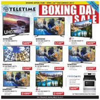 Teletime.ca - Boxing Day Sale Flyer