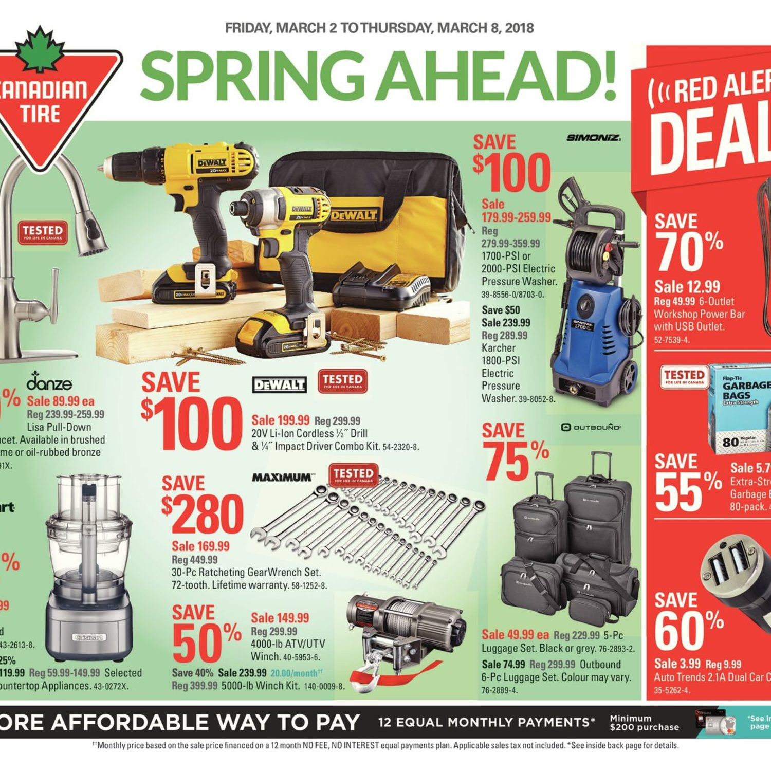 Canadian tire weekly flyer weekly spring ahead mar 2 8 canadian tire weekly flyer weekly spring ahead mar 2 8 redflagdeals keyboard keysfo Image collections