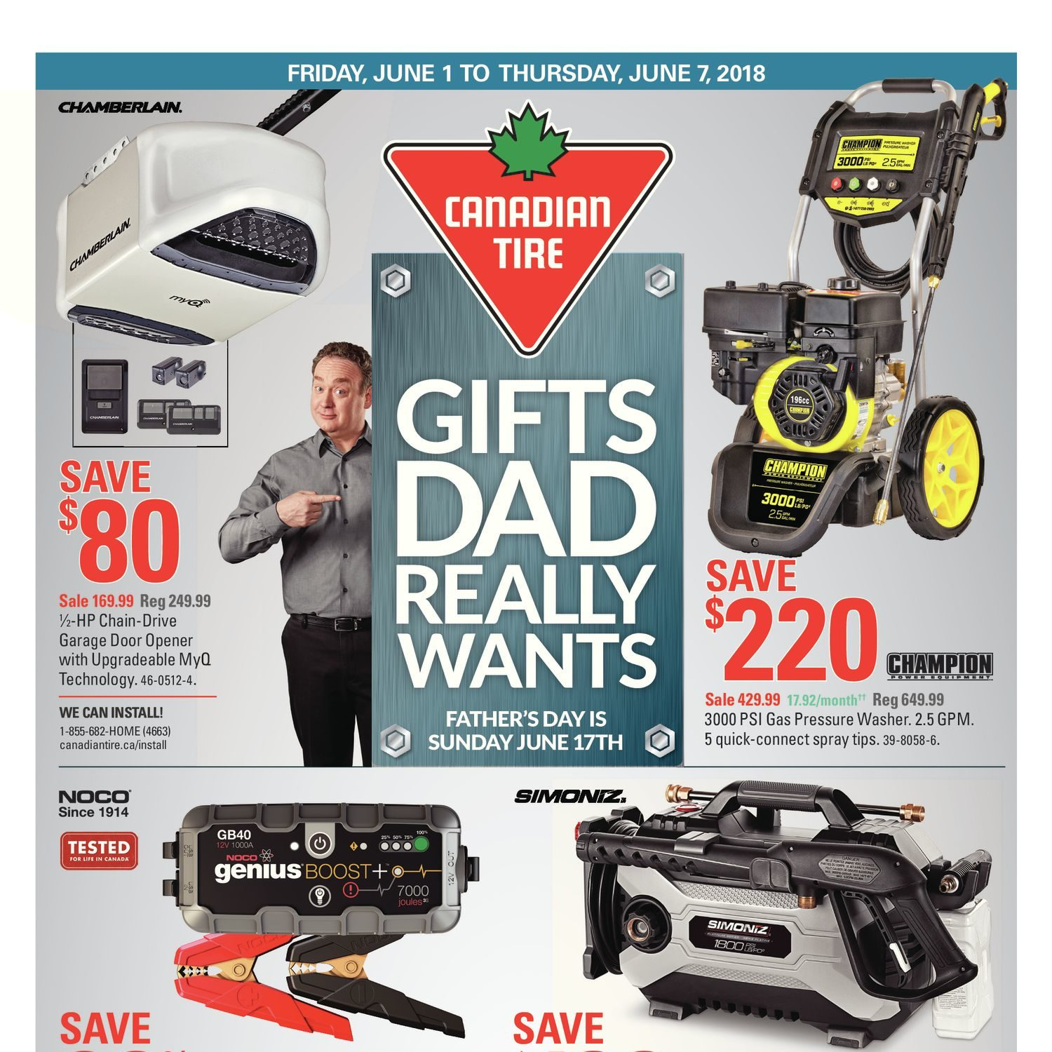 Canadian tire weekly flyer gifts dad really wants jun 1 7 canadian tire weekly flyer gifts dad really wants jun 1 7 redflagdeals keyboard keysfo Images