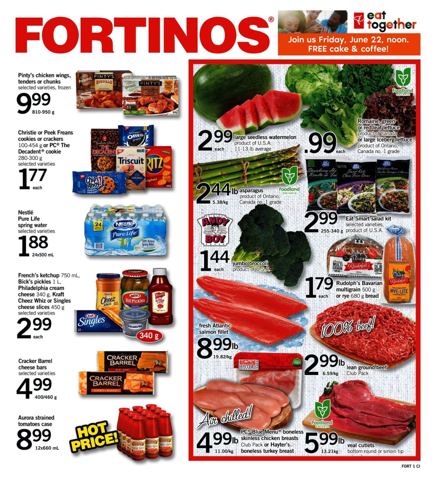Fortinos Weekly Flyer Specials Jun 21 27 Swanson Premium Full Spectrum Green Coffee Bean 60 Caps