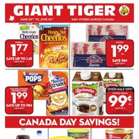 Giant Tiger - Weekly - Canada Day Savings! Flyer