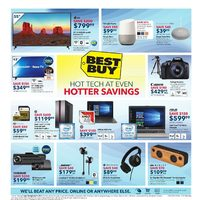 Best Buy - Weekly - Hot Tech At Even Hotter Savings Flyer