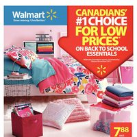 Walmart - Weekly - Everybody Back To Campus Flyer