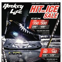 Pro Hockey Life - Hit The Ice Sale Flyer
