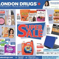 London drugs flyer vancouver bc redflagdeals 6 days of savings super sale valid fri sep 21 wed sep 26 london drugs reheart Choice Image