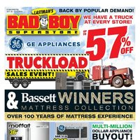 Bad Boy Furniture - Truckload Sales Event! Flyer