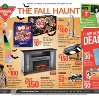 Canadian Tire - Weekly - The Fall Haunt Flyer