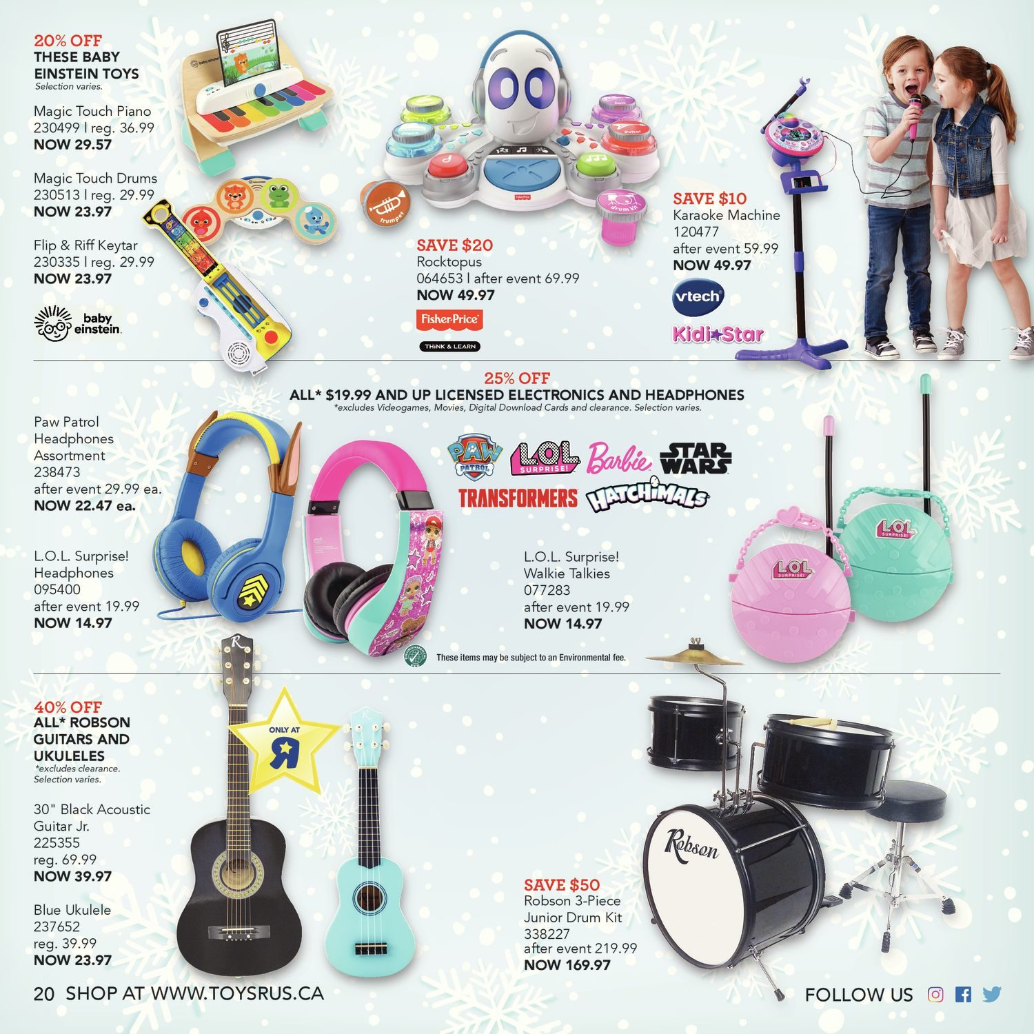 002b62c3f Toys R Us Weekly Flyer - Ultimate Toy Guide 2018 - Nov 2 – 15 ...