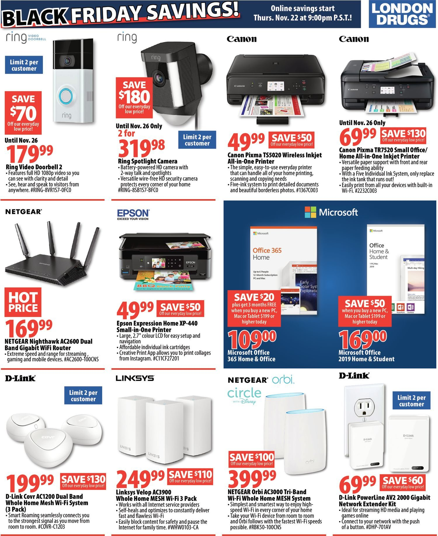 940f8193f4ad6a London Drugs Weekly Flyer - Black Friday 6 Day Event! - Nov 23 – 28 -  RedFlagDeals.com