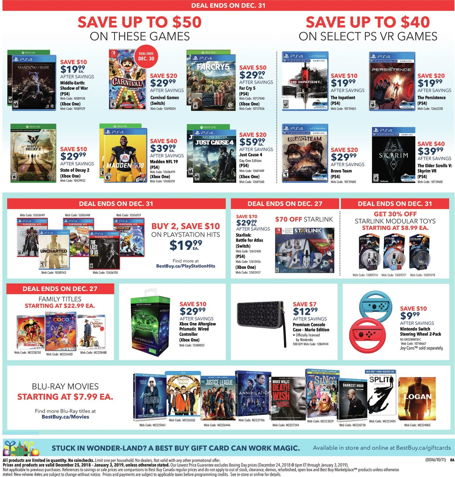 Best Buy Weekly Flyer - Boxing Day Sale - Dec 25 – Jan 3