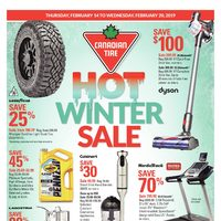 Canadian Tire - Weekly - Hot Winter Sale Flyer