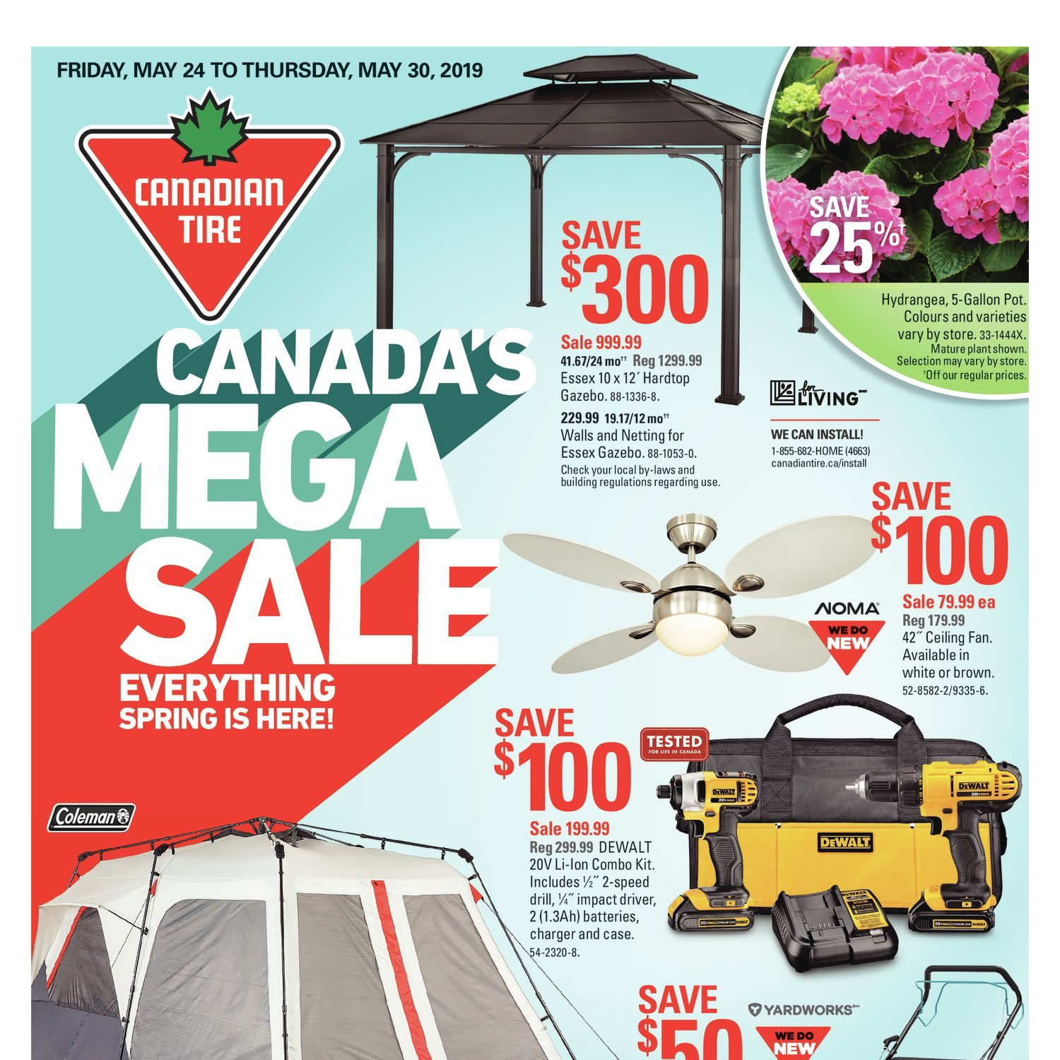 Canadian Tire Weekly Flyer - Weekly - Canada's Mega Sale - May 24