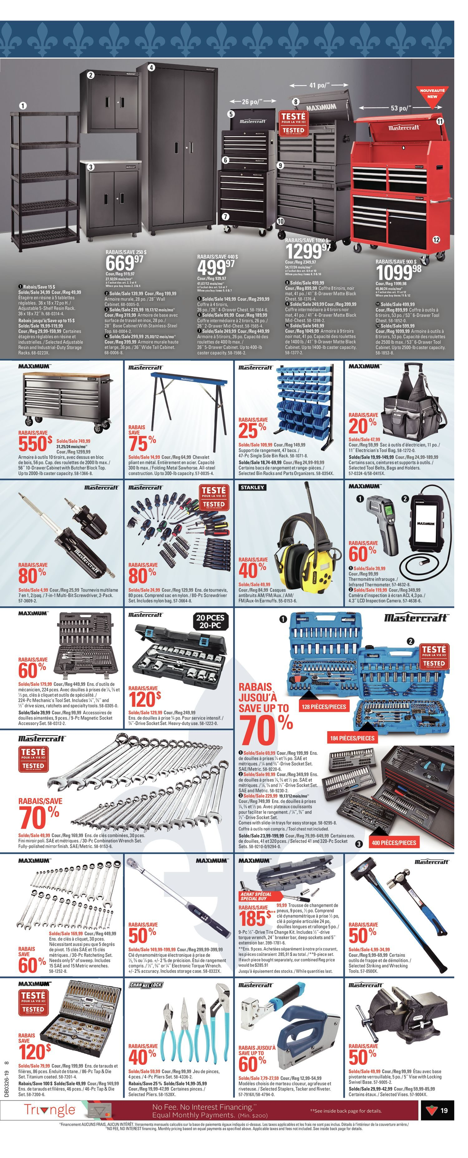 Canadian Tire Weekly Flyer - 7 Days of Savings - Québec