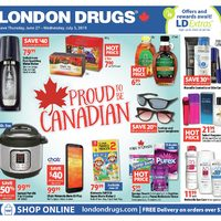 London Drugs - 7 Days of Savings - Proud To Be Canadian Flyer