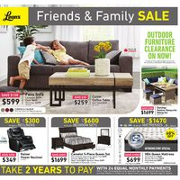 Leon's - Friends & Family Sale Flyer