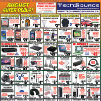 Tech Source - August Super Deals! Flyer