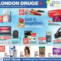London Drugs - 6 Days of Savings - Get It Together Flyer