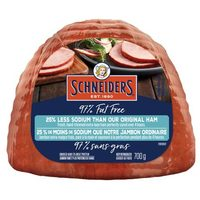 Maple Leaf Or Schneiders Half Hams