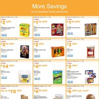 Costco - Business Centre - More Savings Flyer