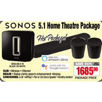 Sonos 5.1 Home Theatre Package