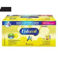 Enfamil A+ Ready-to-Feed or Concentrate Formula