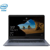 "ASUS 14"" Laptop - Star Grey (Intel Celeron N4000/64GB eMMC/4GB RAM/Windows 10 S) - English"
