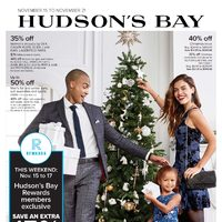 The Bay - Weekly - Unwrap The Festive Flyer
