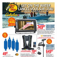 Bass Pro Shops - Get On The Water Flyer