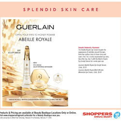 Shoppers Drug Mart - Beauty Boutique Locations Only - Splendid Skin Care Flyer