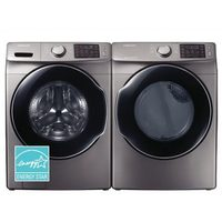 Samsung Front-Load Stackable Washer and Dryer