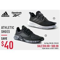 Adidas Reebok Athletic Shoes