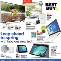Best Buy - Weekly - Leap Ahead To Spring Flyer