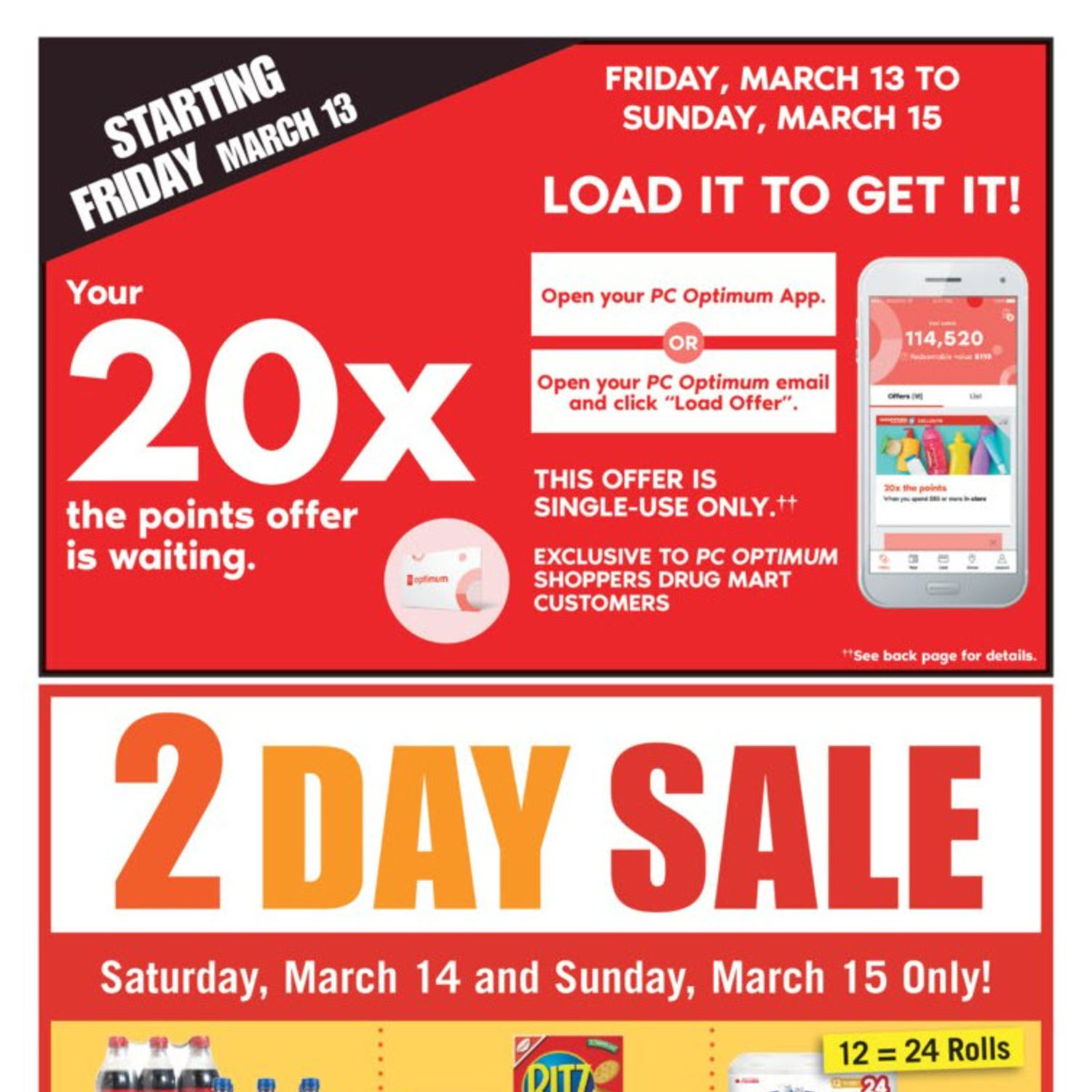 Shoppers Drug Mart Weekly Flyer Weekly Mar 14 20