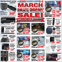 - Weekly - March Price Break Sale! Flyer