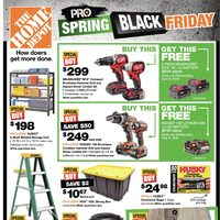 Home Depot - Weekly - Pro Spring Black Friday Flyer