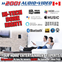 2001 Audio Video - Hi-Tech Done Right! Flyer